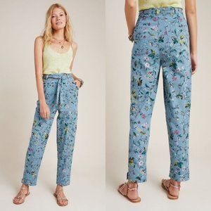 Anthropologie | NWT Victoria Floral Cargo Pants